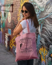 Make it the meaningful message to your wife Tote Bag lifestyle-totebag-front-1