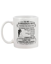 Make it the meaningful message to your wife Mug back
