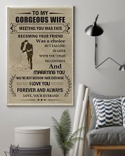 Make it the meaningful message to your wife 16x24 Poster lifestyle-poster-1