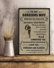 Make it the meaningful message to your wife 16x24 Poster lifestyle-poster-3