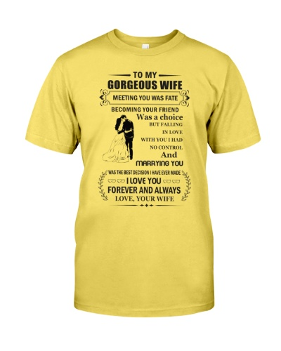 Make it the meaningful message to your husband