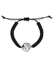 A meaningful message to your son and daughter Cord Circle Bracelet thumbnail