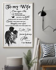 H18 Family poster - Husband to wife - I love you 11x17 Poster lifestyle-poster-1