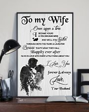H18 Family poster - Husband to wife - I love you 11x17 Poster lifestyle-poster-2