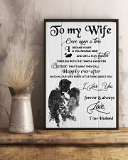 H18 Family poster - Husband to wife - I love you 11x17 Poster lifestyle-poster-3
