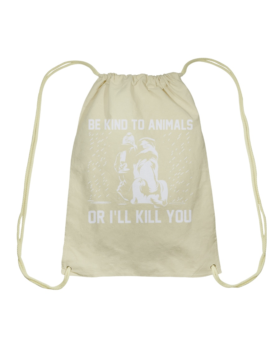 Make it the meaningful message to your son Drawstring Bag