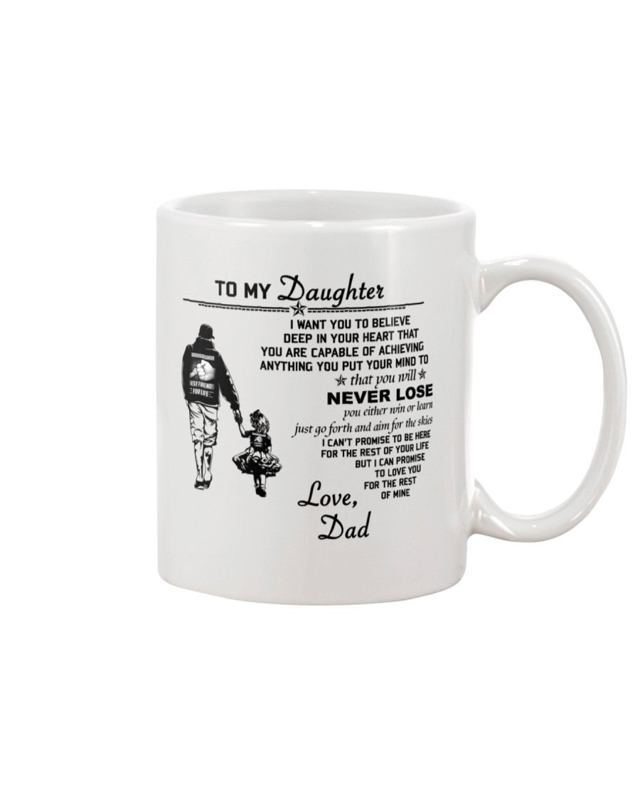 Make it the meaningful message to your daughter Mug