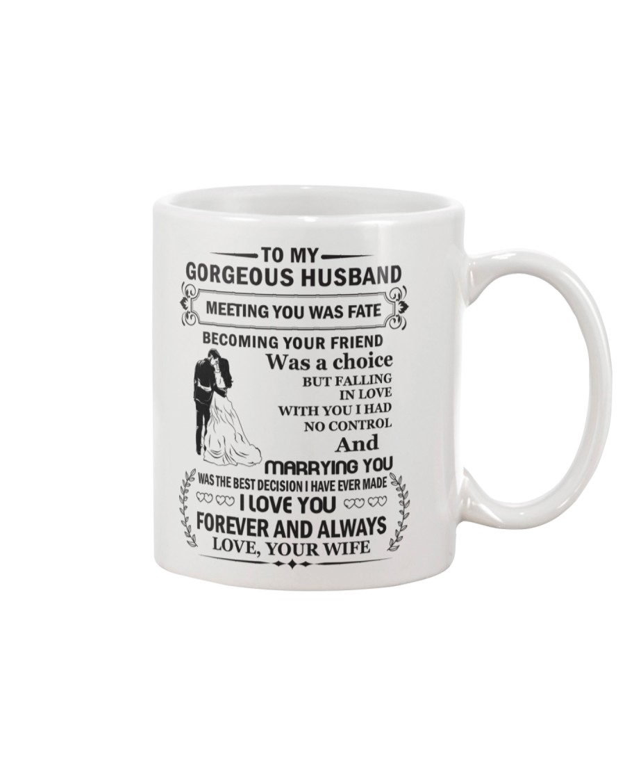 Make it the meaningful message to your husband Mug showcase
