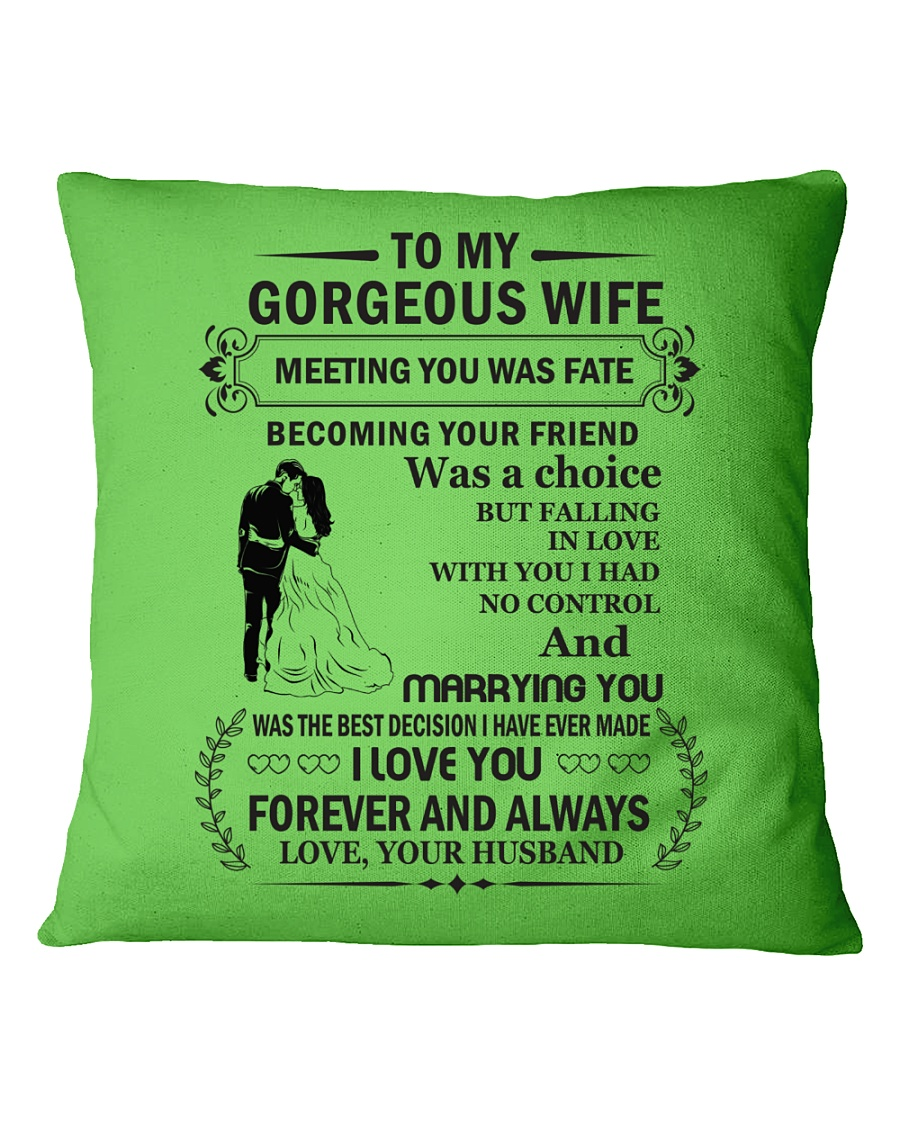 Make it the meaningful message to your husband Square Pillowcase