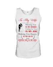 Make it the meaningful message to your wife Unisex Tank thumbnail
