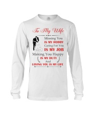 Make it the meaningful message to your wife Long Sleeve Tee thumbnail