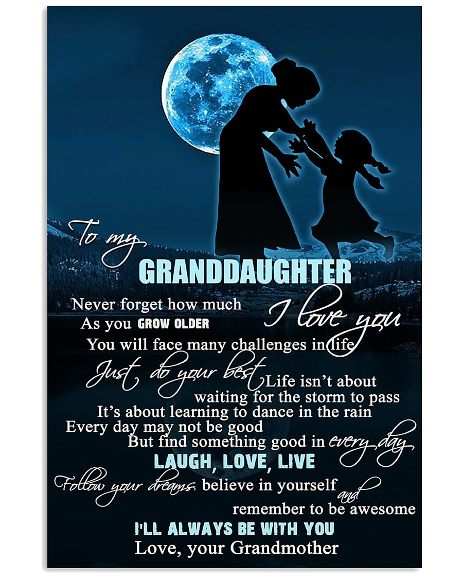 H6 Family poster - Grandmother to granddaughter  11x17 Poster