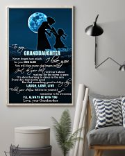 H6 Family poster - Grandmother to granddaughter  11x17 Poster lifestyle-poster-1