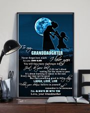 H6 Family poster - Grandmother to granddaughter  11x17 Poster lifestyle-poster-2