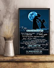H6 Family poster - Grandmother to granddaughter  11x17 Poster lifestyle-poster-3