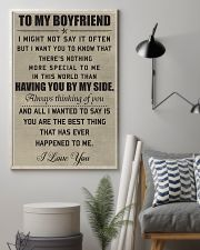 Make it the meaningful message to your boyfiend 11x17 Poster lifestyle-poster-1