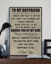Make it the meaningful message to your boyfiend 11x17 Poster lifestyle-poster-2