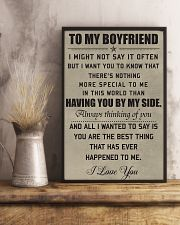 Make it the meaningful message to your boyfiend 11x17 Poster lifestyle-poster-3