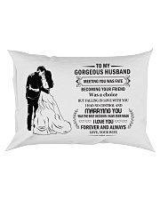 Make it the meaningful message to your husband  Rectangular Pillowcase thumbnail