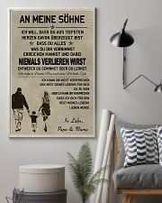 Make it the meaningful message to your sons DE 11x17 Poster lifestyle-poster-1