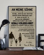 Make it the meaningful message to your sons DE 11x17 Poster lifestyle-poster-2