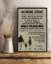 Make it the meaningful message to your sons DE 11x17 Poster lifestyle-poster-3