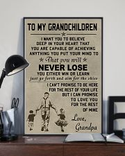 Make it the meaningful message to your grandchild 11x17 Poster lifestyle-poster-2