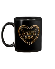Make it the meaningful message to your daughter Mug back