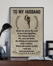Make it the meaningful message to your husband 11x17 Poster lifestyle-poster-2