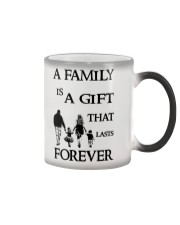 Make it the meaningful message to your family Color Changing Mug thumbnail