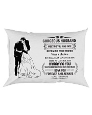 Make it the meaningful message to your husband Rectangular Pillowcase tile