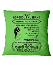 Make it the meaningful message to your husband Square Pillowcase thumbnail