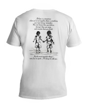 I will always be with you V-Neck T-Shirt thumbnail