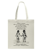 I will always be with you Tote Bag thumbnail