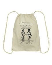 I will always be with you Drawstring Bag thumbnail