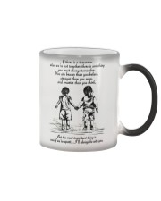 I will always be with you Color Changing Mug thumbnail