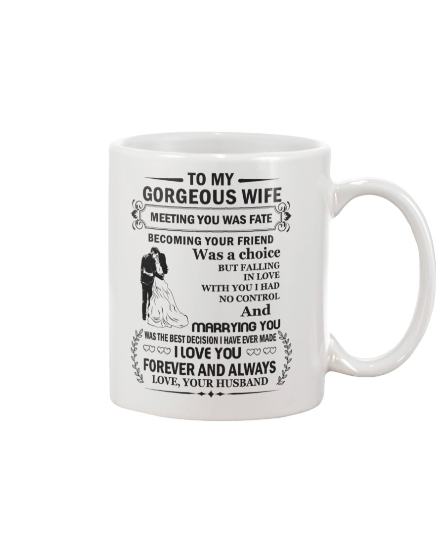 Make it the meaningful message to your wife Mug showcase