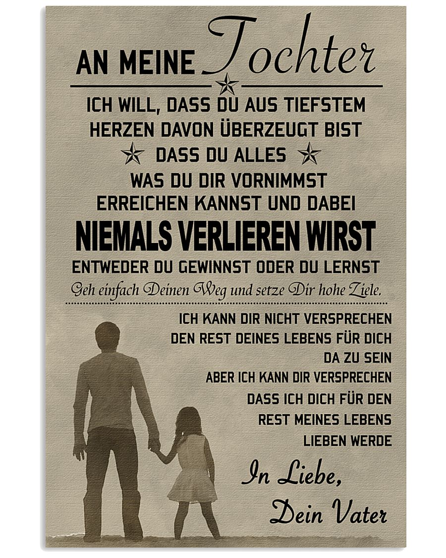 Make it the meaningful message to your son 11x17 Poster