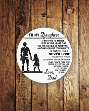 Make it the meaningful message to your daughter Circle Magnet aos-magnets-round-front-lifestyle-2