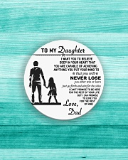 Make it the meaningful message to your daughter Circle Magnet aos-magnets-round-front-lifestyle-5