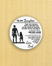Make it the meaningful message to your daughter Circle Magnet aos-magnets-round-front-lifestyle-6