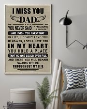 Make it the meaningful message to your dad 11x17 Poster lifestyle-poster-1