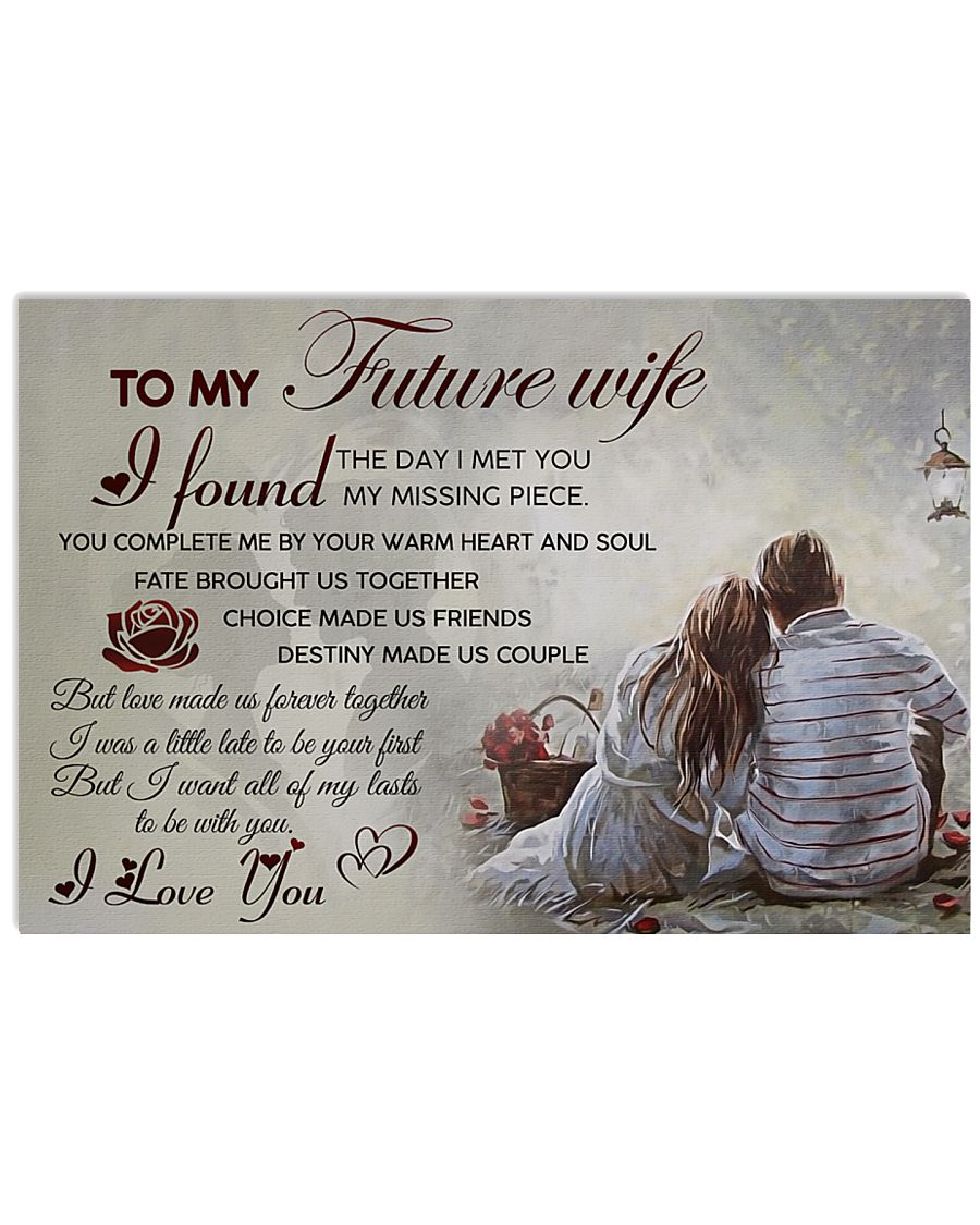 H20 Family poster - To my future wife - I love you 17x11 Poster