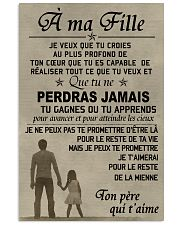 Make it the meaningful message to your son Vertical Poster tile