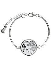 Make it the meaningful message to your son Metallic Circle Bracelet thumbnail
