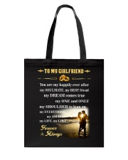 Make it the meaningful message to your girlfriend Tote Bag thumbnail