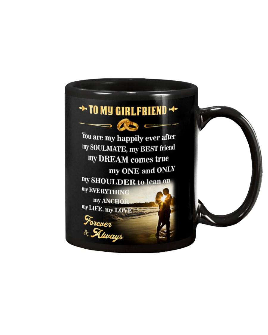 Make it the meaningful message to your girlfriend Mug