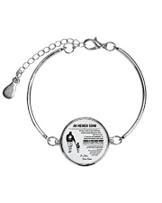Make it the meaningful message to your son DE Metallic Circle Bracelet thumbnail