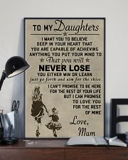 Make it the meaningful message to your daughters 11x17 Poster lifestyle-poster-2