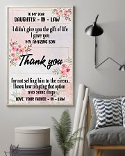 H12 Family poster - To my daughter-in-law 11x17 Poster lifestyle-poster-1